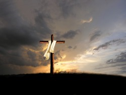 after the crucifixion