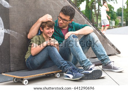Afternoon in skate park