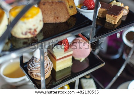 Afternoon Tea. Desserts. Sweets. #482130535