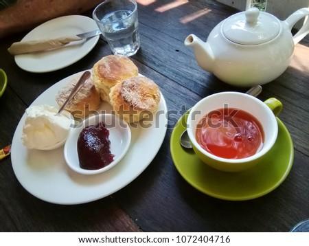 afternoon tea scones #1072404716
