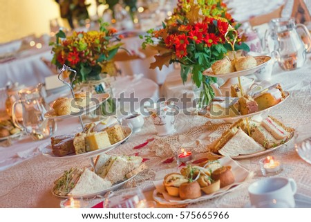 Afternoon Tea Service Traditional English Luxury Ez Canvas