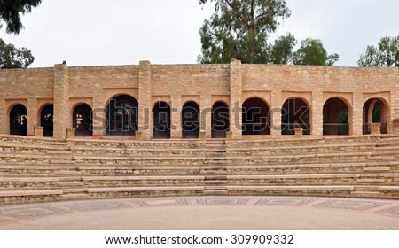 agadir city morocco medina landmark arab amphitheater