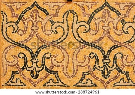 agadir city morocco medina landmark arab mosaic detail
