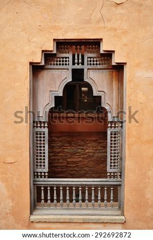 agadir city morocco medina landmark arab window