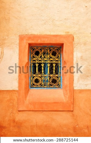 agadir city morocco medina landmark arab window detail