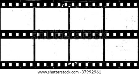 Aged film strip background