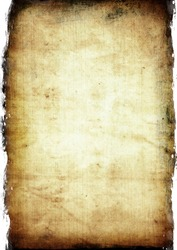 Aged paper texture