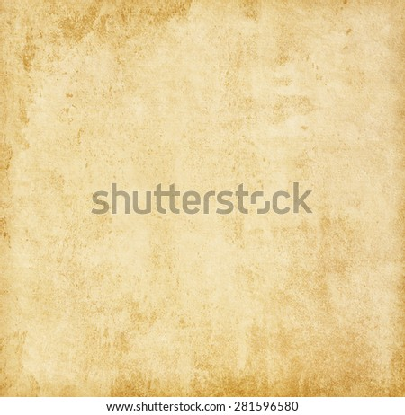 Aged paper texture.  - Shutterstock ID 281596580