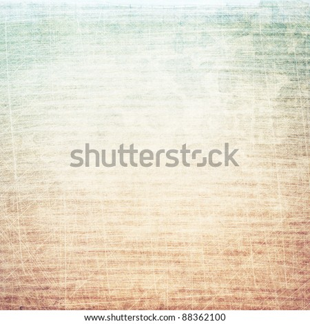 Aged paper texture, grunge background