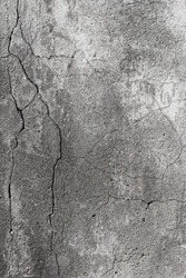 Aged plaster wall