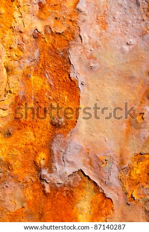 aged rusty iron texture like a good grunge background - stock photo