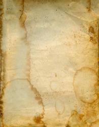 Aged vintage paper background.