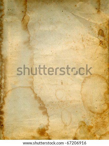 Aged vintage paper background.