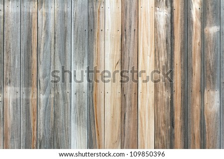 Aged wooden floor pattern