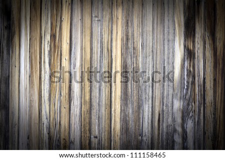 Aged wooden wall pattern