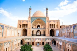 Agha Bozorg  school and mosque in Kashan, Iran