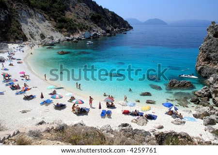 Aghiofili beach, Greece