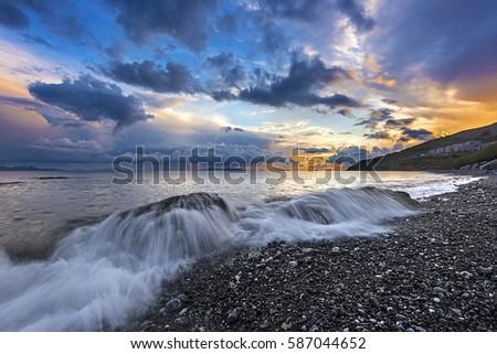 Photo of  Agios Fokas beach, Kos island, Greece.