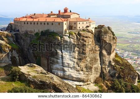 Agios Stefanos Monastery in Meteora, Greece