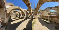 Agora etymologically means market. Agora Open Air Museum, an ancient structure, which dates back to the Roman Empire period, is the biggest ancient market in Izmir. In the museum, you can see archaeol