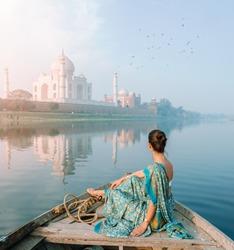 Agra Tajmahal  in the INDIA