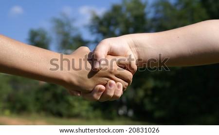 Agreement between kids.