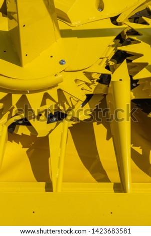 Agricultural machinery, wheel finger rake