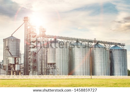 agro-processing plant for processing and silos for drying cleaning and storage of agricultural products, flour, cereals and grain #1458859727
