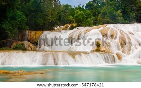 Shutterstock Agua Azul Waterfall, Mexico
