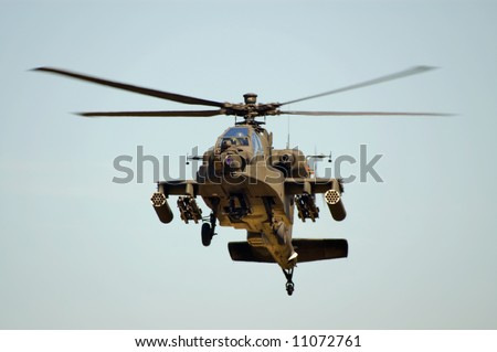 AH-64 Apache - stock photo