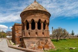 Ahlat, Bitlis - Turkey. Emir Bayindir Cupola ( Kumbet ) in Ahlat.
