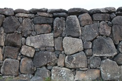Ahu Easter Islands Altar