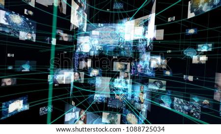 AI (Artificial Intelligence) concept. #1088725034