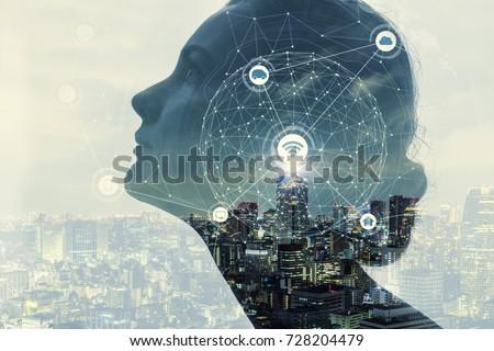 AI(Artificial Intelligence) concept. #728204479