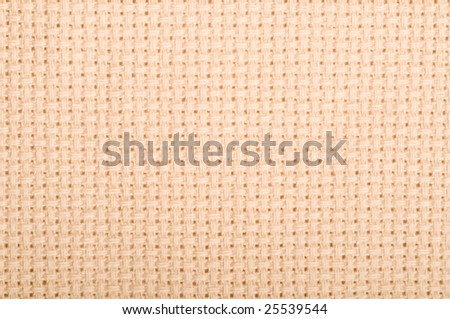 Aida Cloth Used For Cross Stich And Embroidery Stock Photo ...