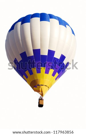 air balloon isolated