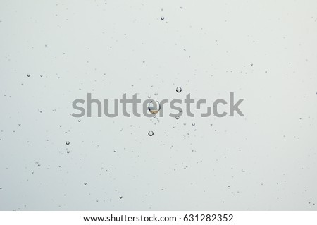 Air bubles in water background