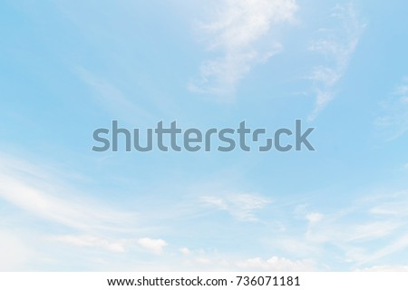 Air clouds in the blue sky. - Shutterstock ID 736071181