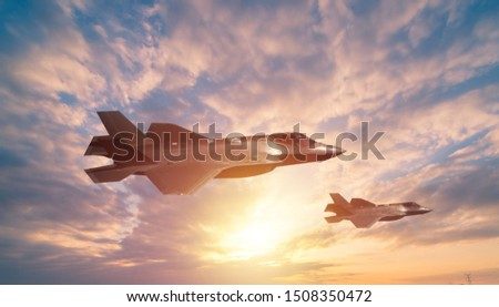 air combat fighter secne background photo