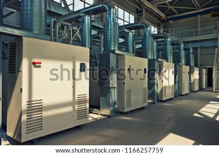 Air Compressor System Room