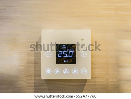 Air-conditioner setting machine in the bedroom #552477760