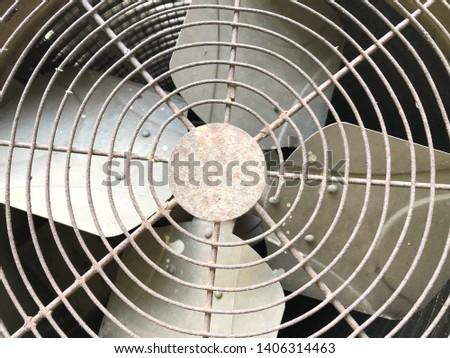 Air conditioning fan.Is a cooling fan. #1406314463