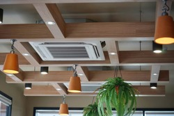 air conditioning on ceiling
