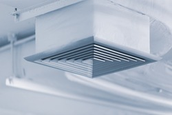 Air Duct Air Condition pipe line system Air flow HVAC system