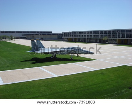 air force academy campus with...
