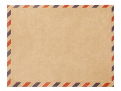 Air Mail Envelope with clipping path
