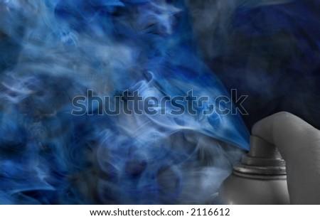 air polution,art ,graffiti, smoke, abstract?