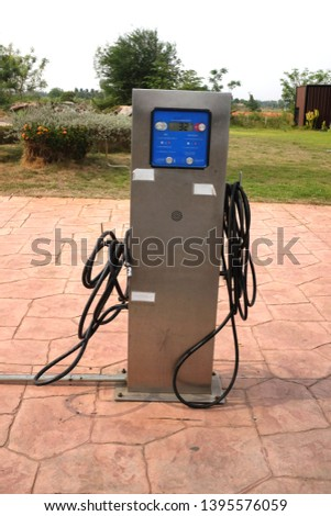 Check Tire Air Pressure At The Gas Station Images And Stock Photos