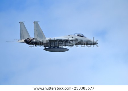 Air Self-Defense Force F-15 fighter