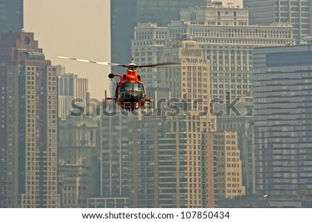 Air show at New York